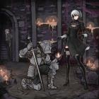 Dark Souls X Nier Automata
