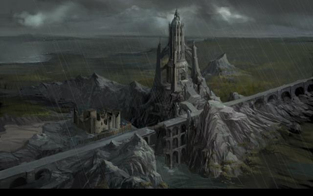 Тевинтерская крепость (Остагар, ДЭО)