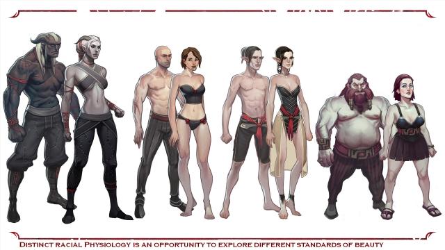 Расы в Dragon Age 2