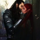 DAI: Lavellan and Blackwall by Sabalmirss
