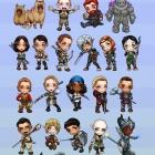 Dragon Age Chibi Set