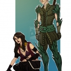 Fenris And Morrigan