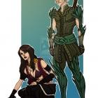 Fenris And Morrigan