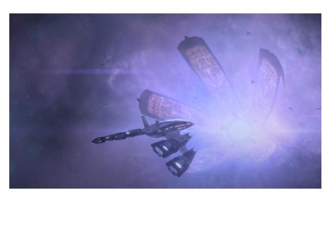 Первое прибытие на Цитадель ME2