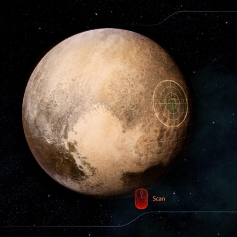 Pluto is in range