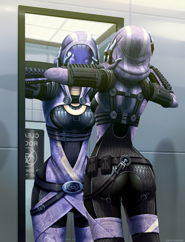 Tali's Reflection