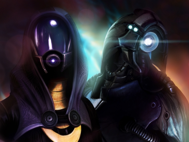 Tali'Zorah and Legion
