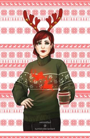 Рождественский Масс Эффект