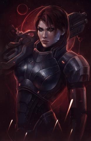 Commander Shepard Hero of the Galaxy. N7 Day