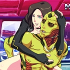 Thane Krios & Miranda Lawson