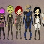 Mass Effect 2 - Paper Dolls