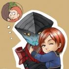 Javik And Monkey Shepard