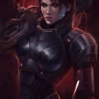 Commander Shepard Hero of the Galaxy. N7 Day
