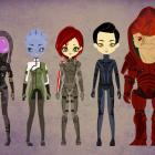 Mass Effect - Poupee