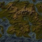 Топографическая карта Тамриэля