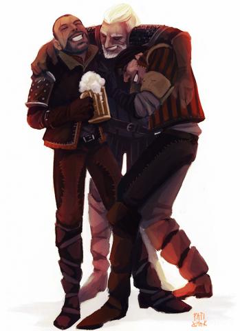 Три ведьмака