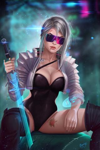 Cirilla Cyberpunk