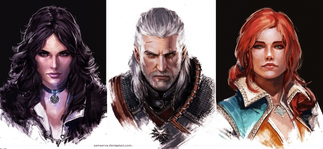 The Witcher Portraits