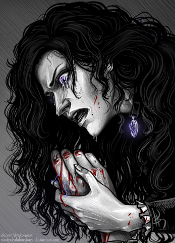 Yennefer and The Hand of Geralt