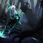 Ciri and the King of Wolves