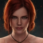 Triss in Lake