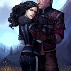 Geralt and Yennefer