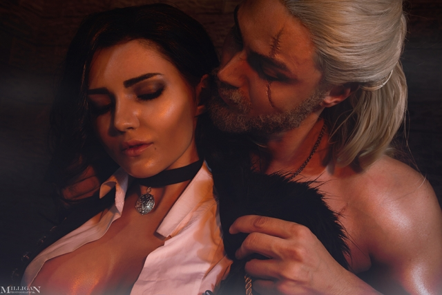 Yennefer and Geralt