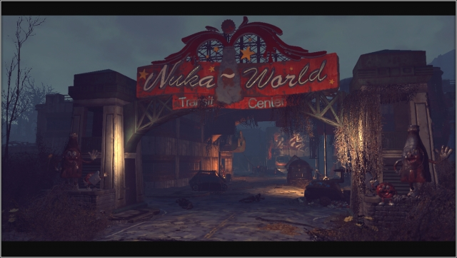 "Начало ""DLC Nuka-World"""