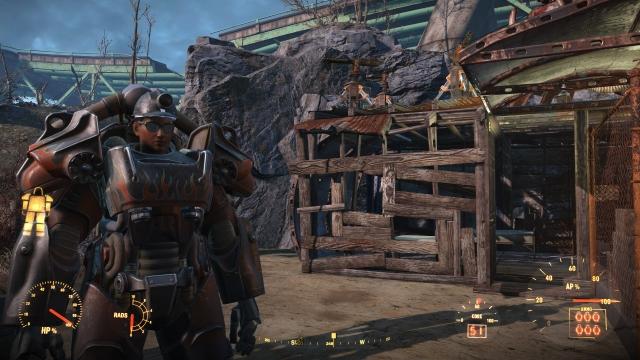 каска с фонариком что работает с силовой броней