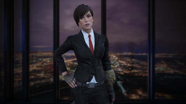 Lara Croft at Fallout 4