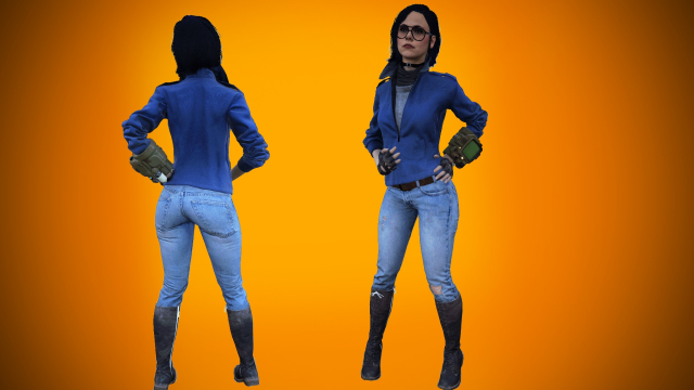 Fallout 4 Helen Park Undercover Outfit