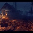 Заброшенный городок (ночь)