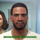Мужской персонаж - черный