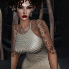second life. мой аватар