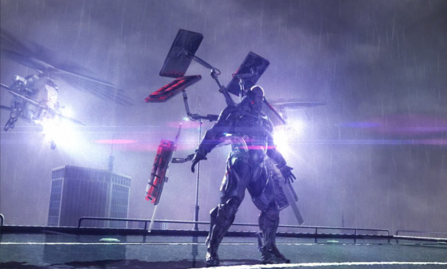 Metal Gear Rising, final