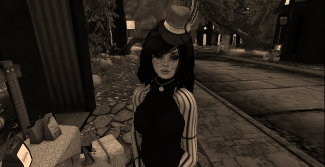 Second life. Halloween stories.