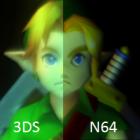 The Legend of Zelda: Majora's Mask, сравнение графики версий для N64 и 3DS