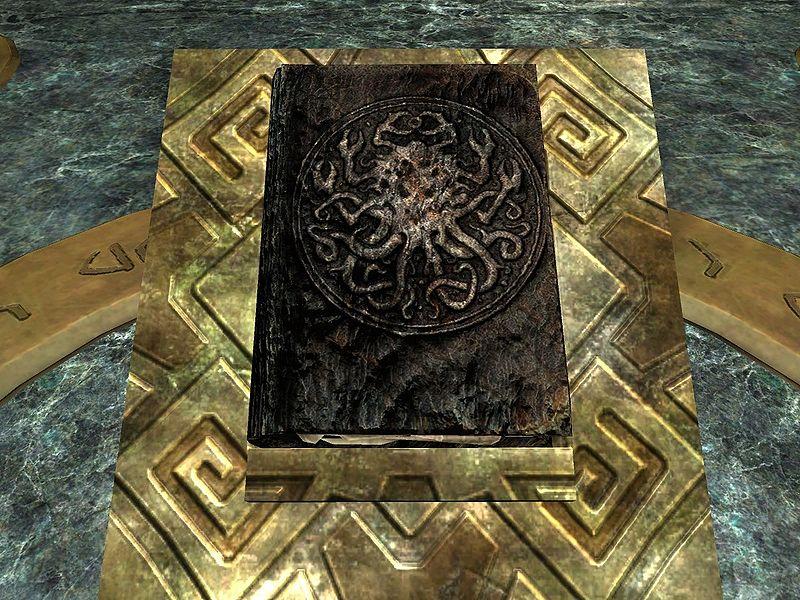 Skyrim Книга Воды Обливиона
