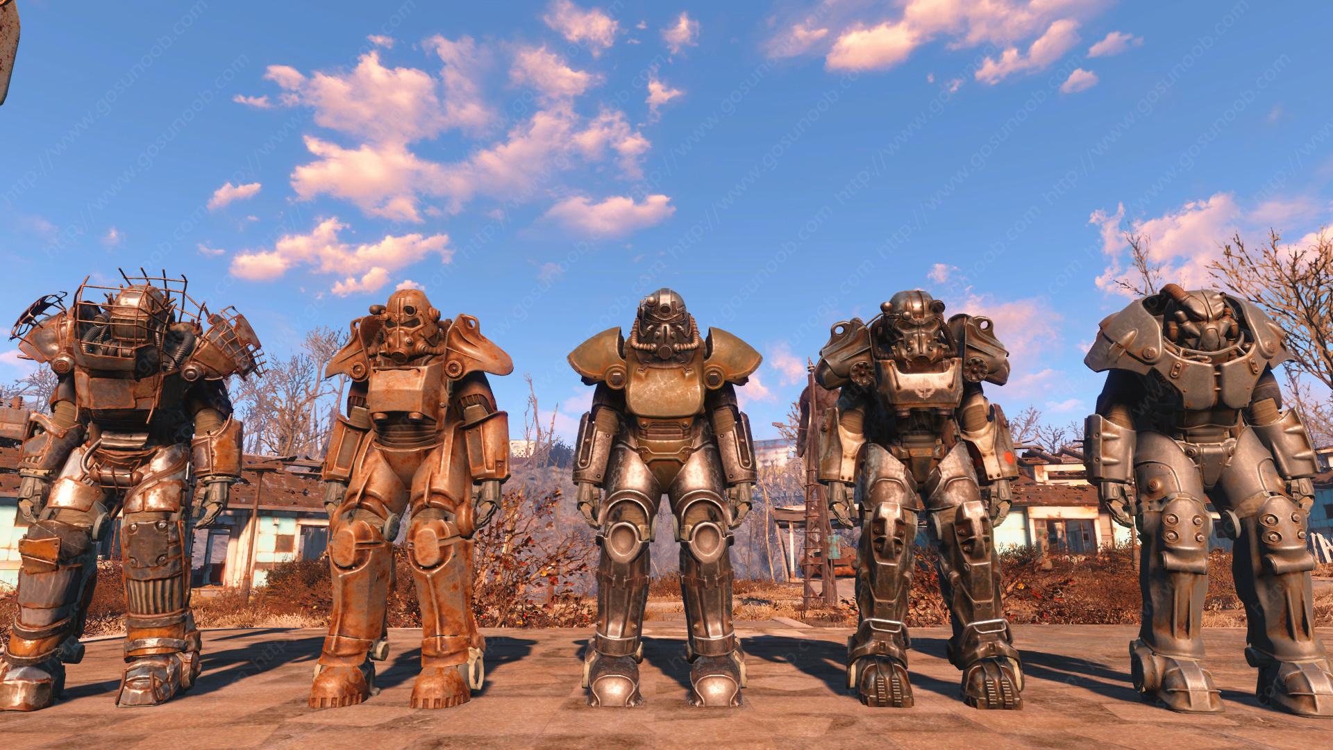 fallout 4 конвейер брони