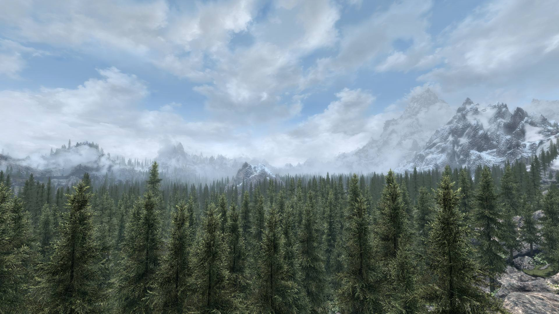 Лесистая долина Вайтрана