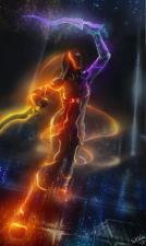 SaltWind - Dark Souls III, Tron Legacy (crossover).jpg - Размер: 73,47К, Загружен: 22